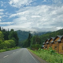 Дорога в горах...