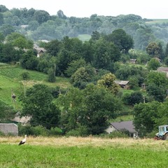 Вид на село