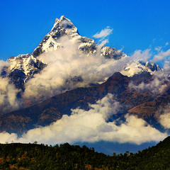Священная гора непальцеф  Махчапучхра 6997м.