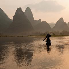 Китай  Река  Ди