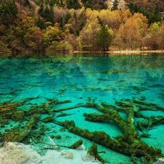 Цветные озёра   Хуанлунга
