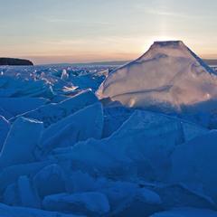 Россия   Озеро   Байкал!