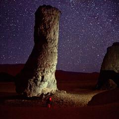 Звёздные  ночи   Сахары