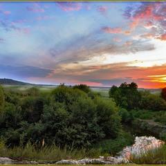 Панорама на р. Ирпень