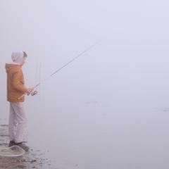 рыбак за хищником