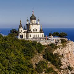 Церковь в Форосе. Крым