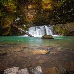 Карпатский водопад