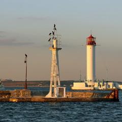 Вечерний Воронцовский маяк