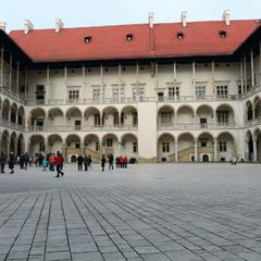 Внутренний двор Вавельского замка