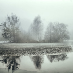 туман..