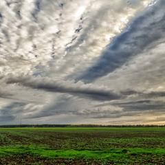 облака осени