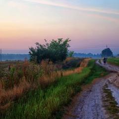 дорога в утро
