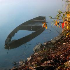 Про лодку и осень
