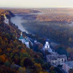 Осень в Святогорске.