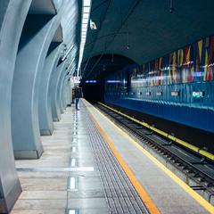 Одна із станцій метро Варшави