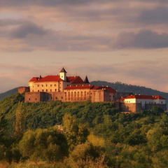Замок Паланок.