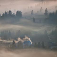 Карпатський генератор туману.