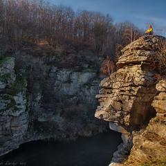 Підкорення кам'яних велетнів Буцького каньйону.