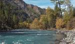 Сентябрь... Горная река....