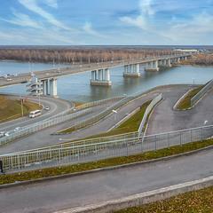 Дорожки, дороги и мосты города....