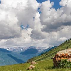Облака и горы ...