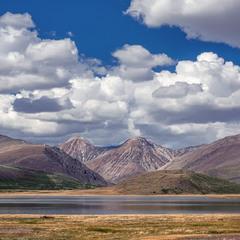 Озеро Киндыктыкуль  Алтай.....