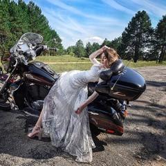 Свадебные фото могут быть и такими