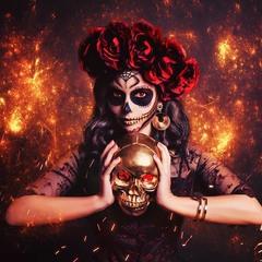 Ну что, достойно мы воплотили в жизнь образ Santa Muerte?