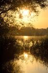 Три солнца на Алмазном озере