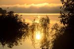 Рассветное купание солнышка
