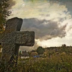 Пирогово, крест.