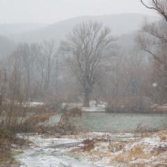 Зима реки Уж
