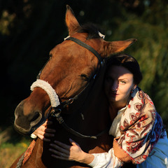 Обнимая коня