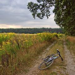 Вело-привал в конце лета