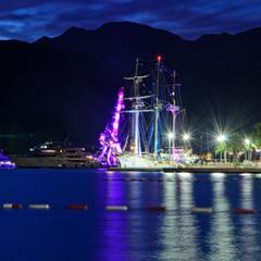 Огни ночного берега, Тиват.