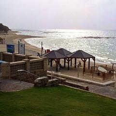 Осінній пляж в Яффі