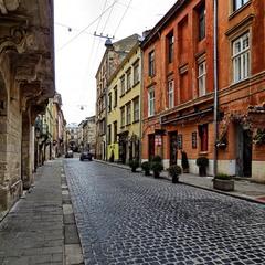 Місто на карантині. Пусті вулиці