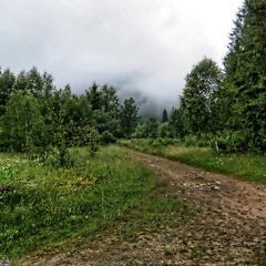 Дорога в хмару