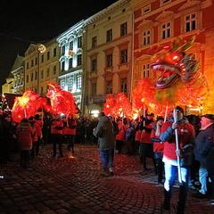Святкування китайського Нового року у Львові
