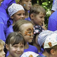 Очікування оголошення переможців дитячої велогонки