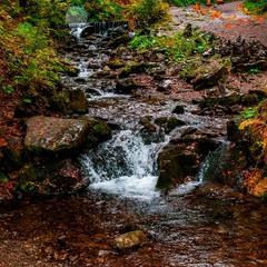 Дорога до водоспаду Шипіт