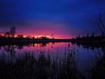 Закат. Смартфото