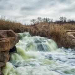 Весна на Токовском водопаде