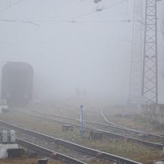 ...по железной дороге