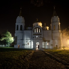 Вечірня прогулянка містом. Спасо-Преображенський собор.