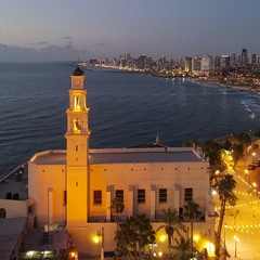 Вид на Тель-Авив с Яффо