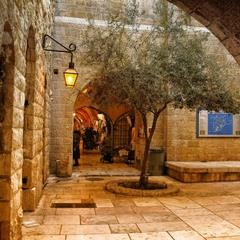 В еврейском квартале Иерусалима