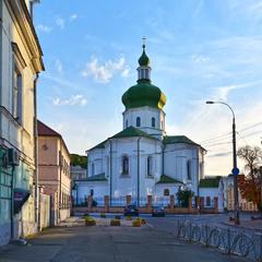 Церква Миколи Притиска, 17-18 ст.