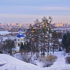 Зимовий Київ