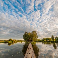 Вечір над річкою